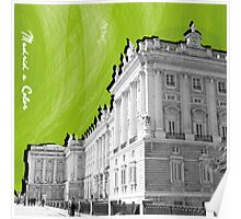 Palacio Real a Color Poster