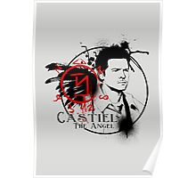Castiel - The Angel Poster