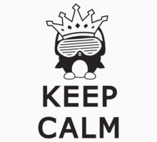 keep calm penguin by Style-O-Mat