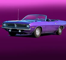 1970 Plymouth Barracuda Convertible by DaveKoontz