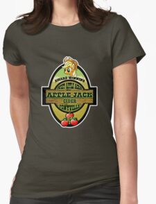 Apple Jack Cider Womens Fitted T-Shirt