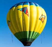 Colorful Hot Air Balloon over Vermont by Edward Fielding