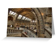 The Natural History Museum - London Greeting Card