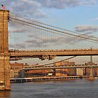 Brooklyn Bridge - New York City by Joel Raskin