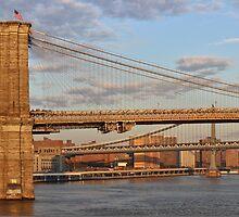 Brooklyn Bridge - New York City by Joel Raskin