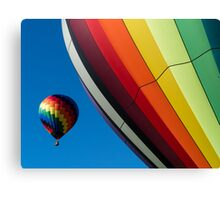 Hot Air Balloons Quechee Vermont Canvas Print