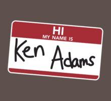 Ken Adams One Piece - Short Sleeve