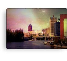 Downtown Milwaukee © Canvas Print