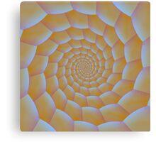 Caterpillar Spiral Canvas Print