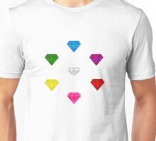 Sonic The Hedgehog Chaos Emeralds Unisex T-Shirt