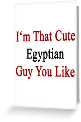 I'm That Cute Egyptian Guy You Like by supernova23