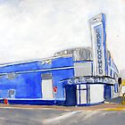 Evansville, Indiana Greyhound Bus Station by Mary Ann Michna
