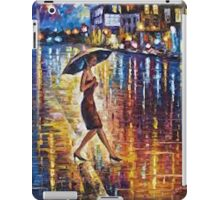 Woman With Umbrella Painting iPad Case/Skin