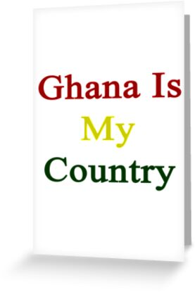 Ghana Is My Country by supernova23