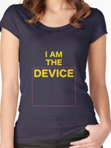 The Device Women's Fitted Scoop T-Shirt