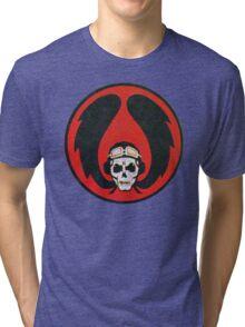 Israeli Air Force Winged Skull Tri-blend T-Shirt