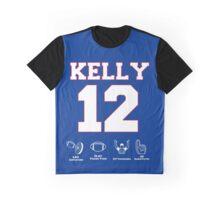 Jim Kelly Career Graphic T-Shirt