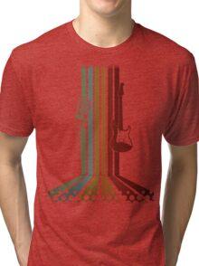 Retro Music Tri-blend T-Shirt