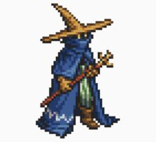Black Mage boss sprite - FFRK - Final Fantasy Record Keeper One Piece - Long Sleeve