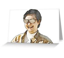 Mr. Chow Greeting Card