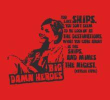 Big Damn Heroes: Kaylee T-Shirt