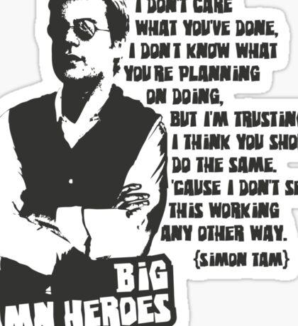 Big Damn Heroes: Simon Sticker