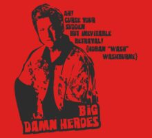 Big Damn Heroes: Wash by Charles Flanagan
