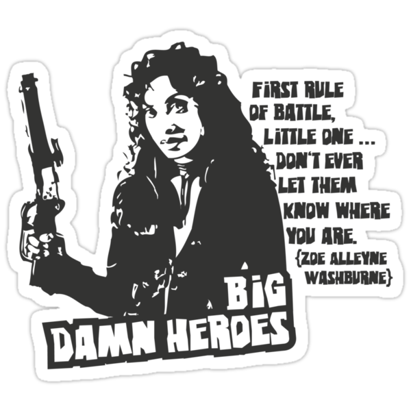 Big Damn Heroes: Zoe by Charles Flanagan