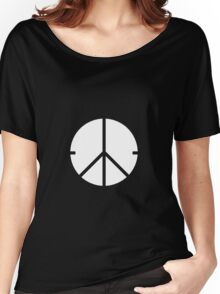 Universal Unbranding - Peace and War Women's Relaxed Fit T-Shirt