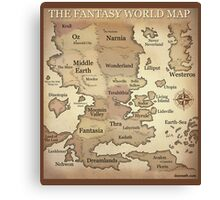 Fantasy Lands Canvas Print
