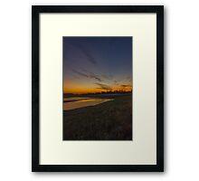 Sunset 4 Framed Print