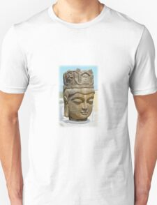 Buddha Head Unisex T-Shirt