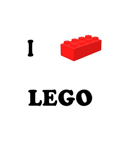 I Love Lego by zombieCraig