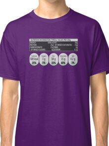 Nutritional Information Classic T-Shirt
