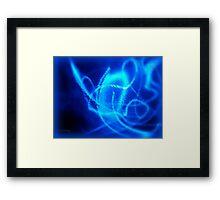 ©NLE Blue Shake Framed Print