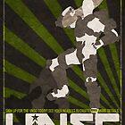 Halo 4 Propaganda Poster by taylderp