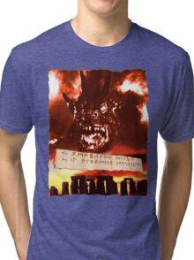 Curse of the Demon Tri-blend T-Shirt