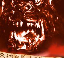 Curse of the Demon Sticker