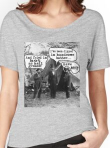 Lincoln: Dipped in Handsome Batter Women's Relaxed Fit T-Shirt