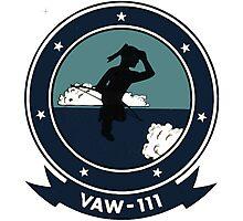 VAW-111 Gray Berets Photographic Print