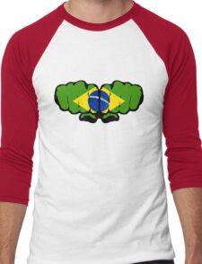 Brazil! (Standard) Men's Baseball ¾ T-Shirt