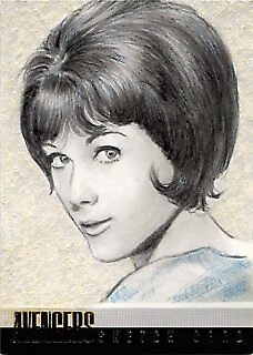 Linda Thorson miniature by wu-wei