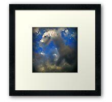 ©HCS Dragon Cloud Framed Print