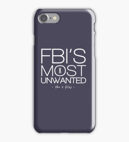 The FBI's Most Unwanted iPhone Case/Skin
