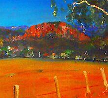 Hanging Rock, Woodend VIC Australia by Margaret Morgan (Watkins)