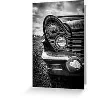 Lincoln Continental Greeting Card