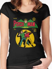 Psychman and Magic Head Women's Fitted Scoop T-Shirt