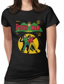 Psychman and Magic Head Womens Fitted T-Shirt