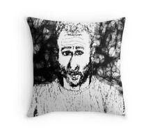 Self-portrait/imaginary -(210313)- Digital drawing/Program: The Scribbler Throw Pillow