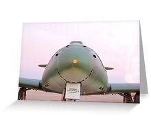 Smiling Messerschmitt Me 262 Greeting Card